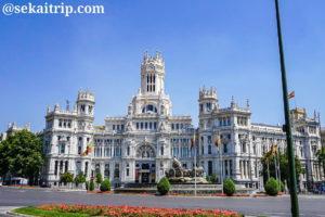 マドリードのシベーレス宮殿(Palacio de Cibeles)
