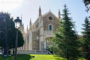 マドリードのサン・ヘロニモ・エル・レアル教会(San Jeronimo el Real)
