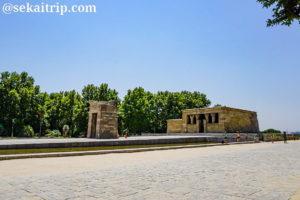 マドリードのデボー聖堂(Templo de Debod)