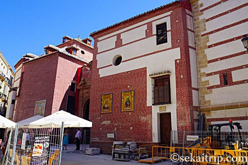 マラガのロス・サントス・マルティレス教会(Iglesia de los Santos Martires)
