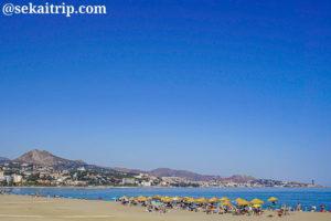 マラガのマラゲータ海岸(Playa de la Malagueta)