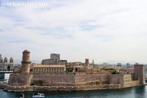 マルセイユのサン・ジャン要塞(Fort Saint-Jean)