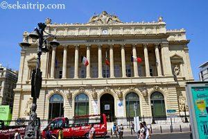 マルセイユの海洋・経済博物館(Musée de la Marine et de l'Économie dans le Palais de la Bourse)