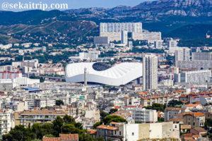 マルセイユのスタッド・ヴェロドローム(Nouveau Stade Vélodrome)