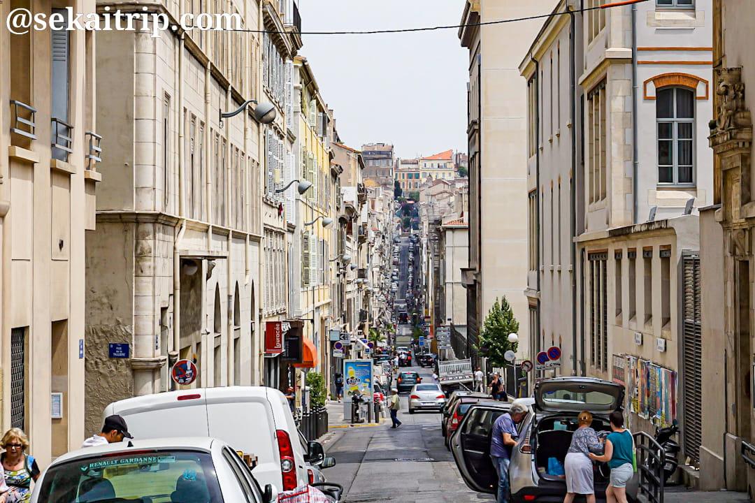 マルセイユのグリニャン通り(Rue Grignan)