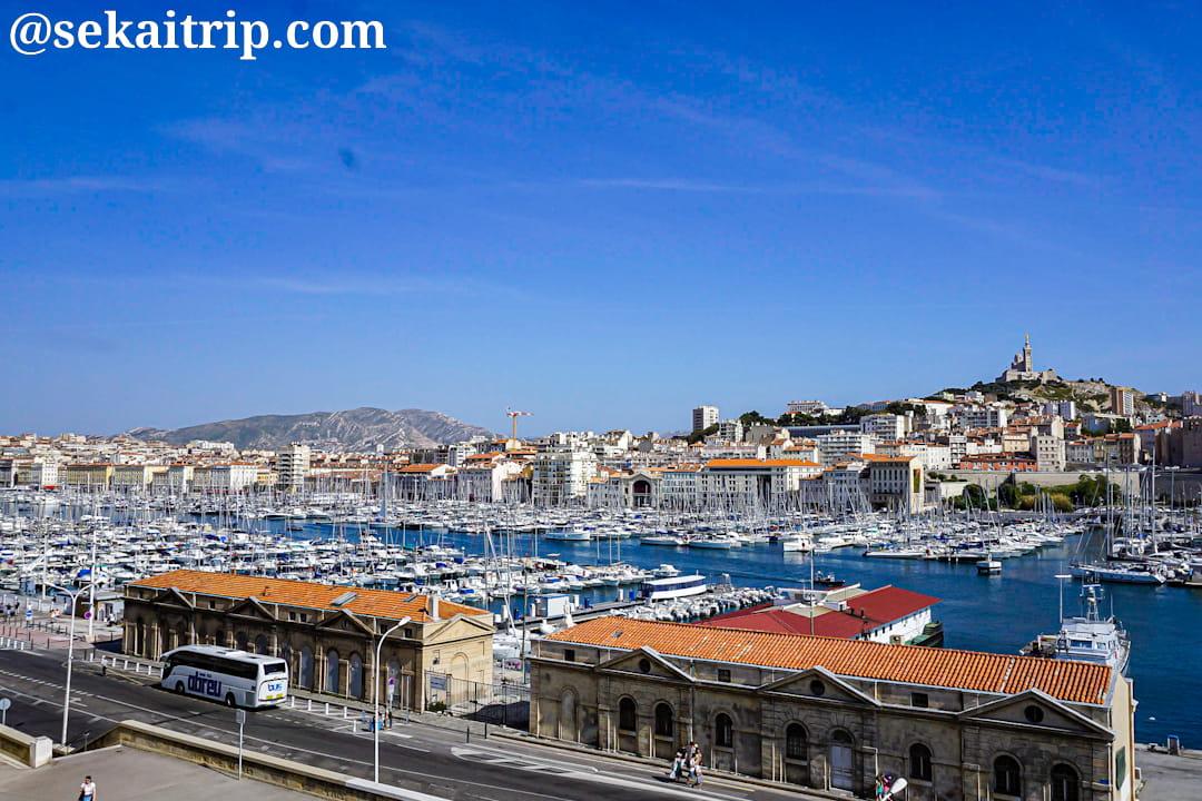 マルセイユの旧港(Vieux Port)