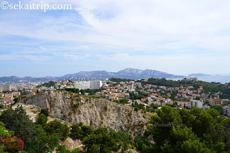 マルセイユの景色