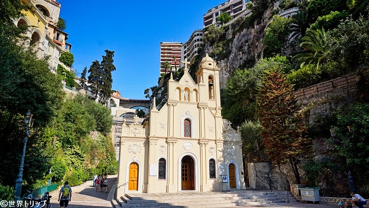 モナコのサン・デボーテ礼拝堂(Église Sainte Dévote)