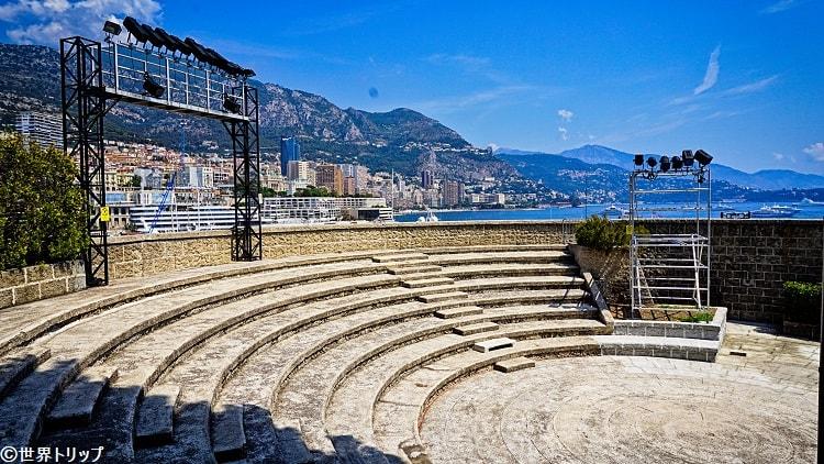 モナコのフォートアントワーヌ劇場(Théâtre du Fort Antoine)