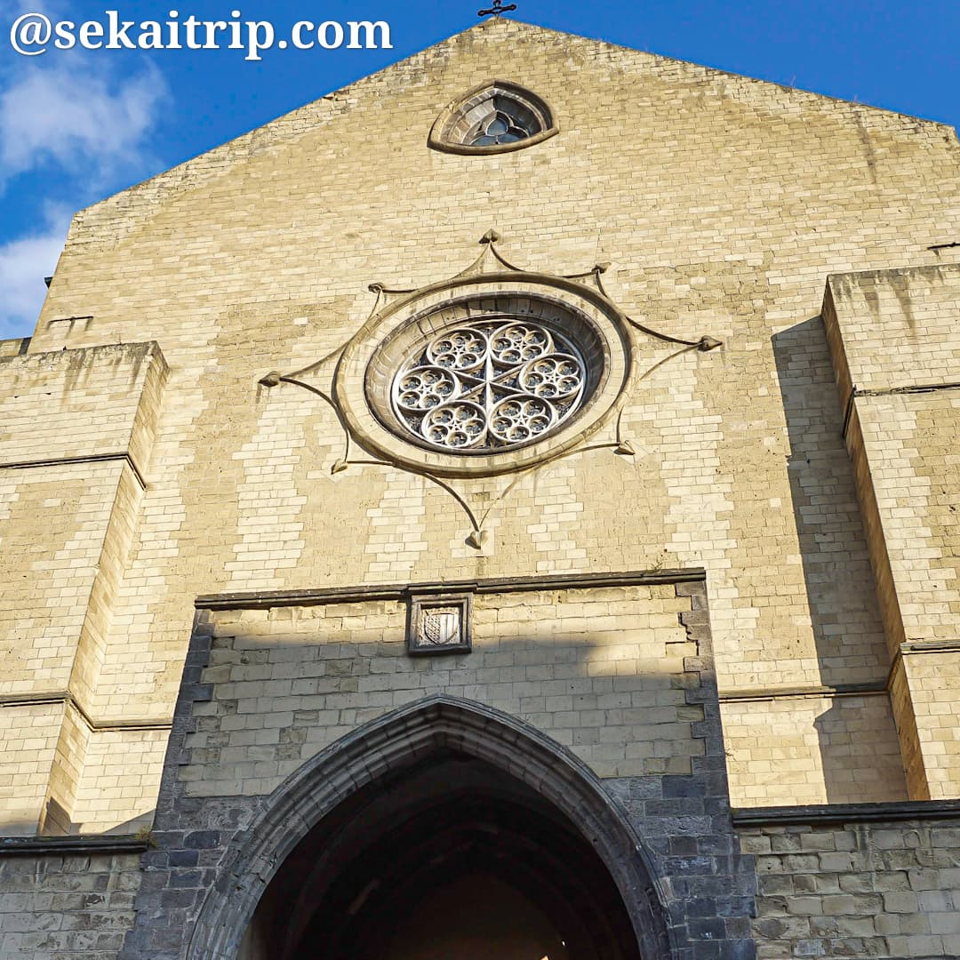 ナポリのサンタ・キアラ聖堂(Basilica di Santa Chiara)