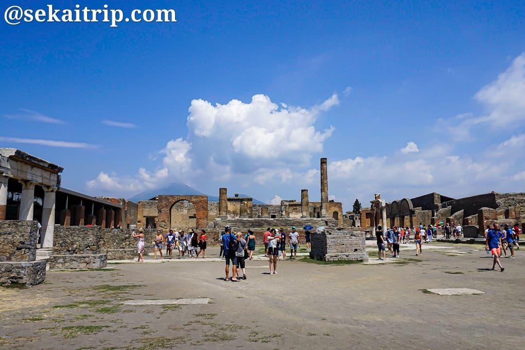 ナポリ近郊のポンペイ遺跡(Scavi di Pompei)