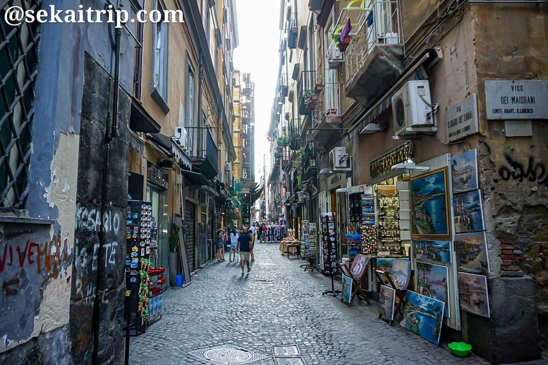 ナポリのスパッカ・ナポリ(Spacca Napoli)