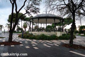 ニースのアルベール1世庭園(Jardin Albert 1er)
