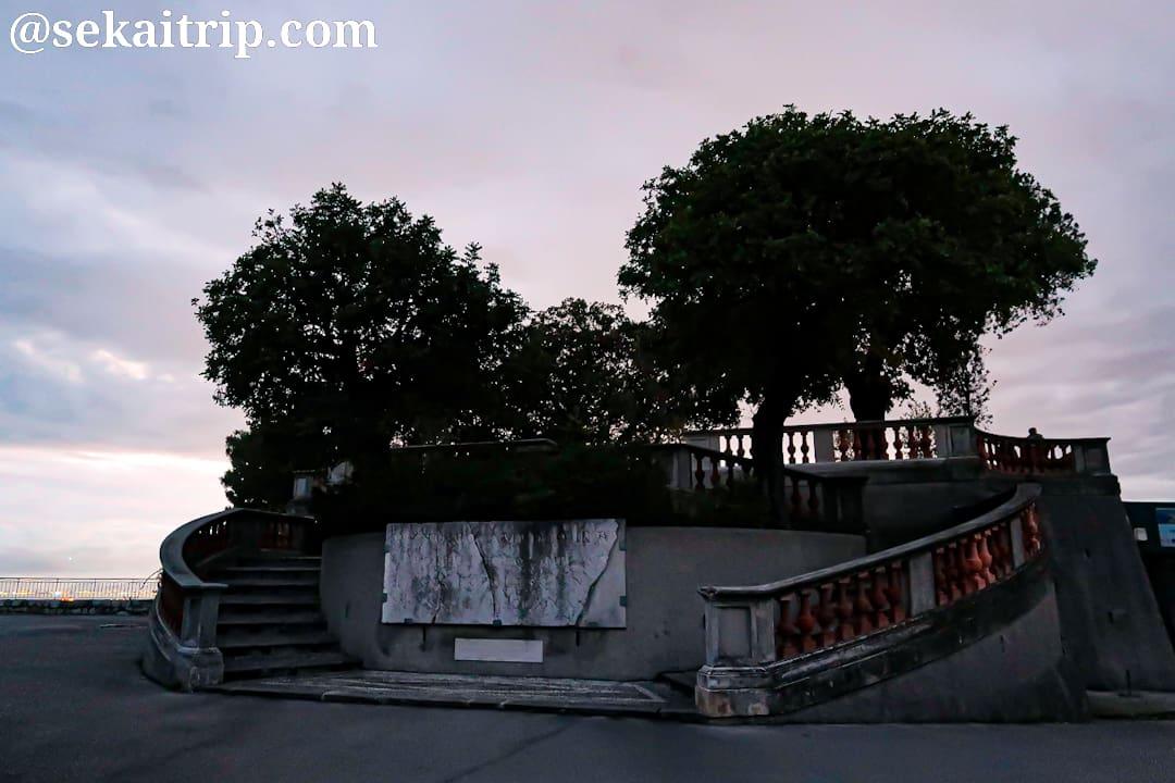 ニースのコリーヌ・ドゥ・シャトー公園(Parc de la Colline du Château)
