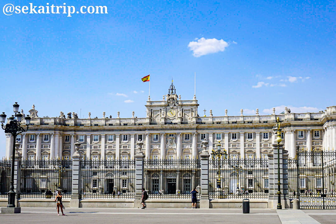 マドリードの王宮(Palacio Real de Madrid)