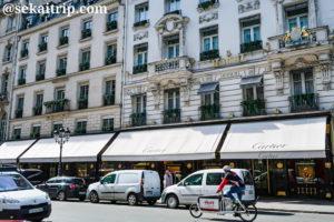 パリのカルティエ(Cartier)本店