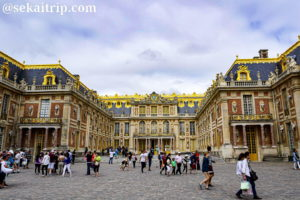 パリ近郊のヴェルサイユ宮殿(Château de Versailles)