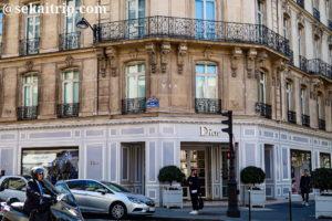 パリのディオール(Christian Dior)本店