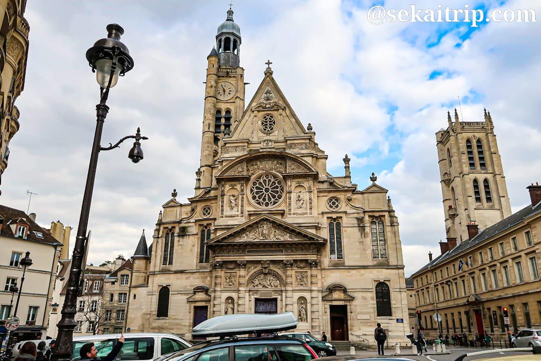 パリのサンテティエンヌ・デュ・モン教会(Église Saint-Étienne-du-Mont)