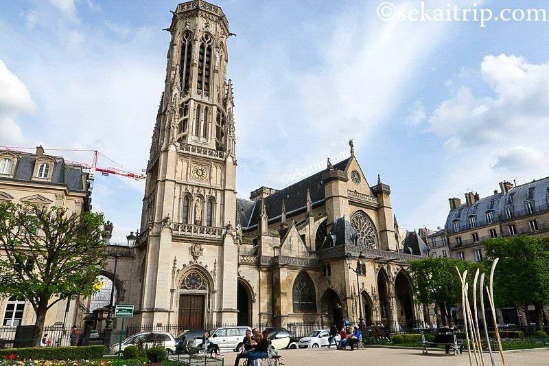 パリのサン・ジェルマン・ロクセロワ教会(Église Saint-Germain l'Auxerrois)
