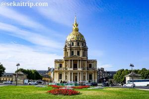 パリのサン・ルイ・デ・ザンヴァリッド教会(Église Saint-Louis-des-Invalides)