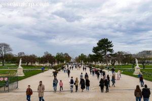 パリのチュイルリー庭園(Jardin des Tuileries)