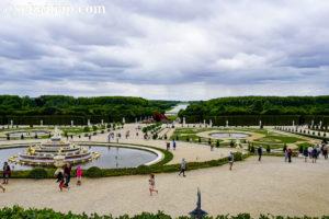 フランスのヴェルサイユ庭園(Jardins du château de Versailles)