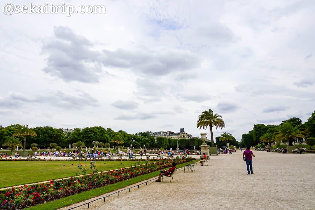 パリのリュクサンブール庭園