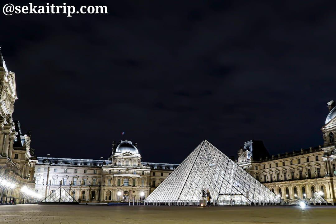 パリのルーブル美術館(Musée du Louvre)