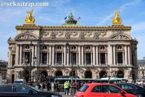 パリのガルニエ宮殿(Palais Garnier)