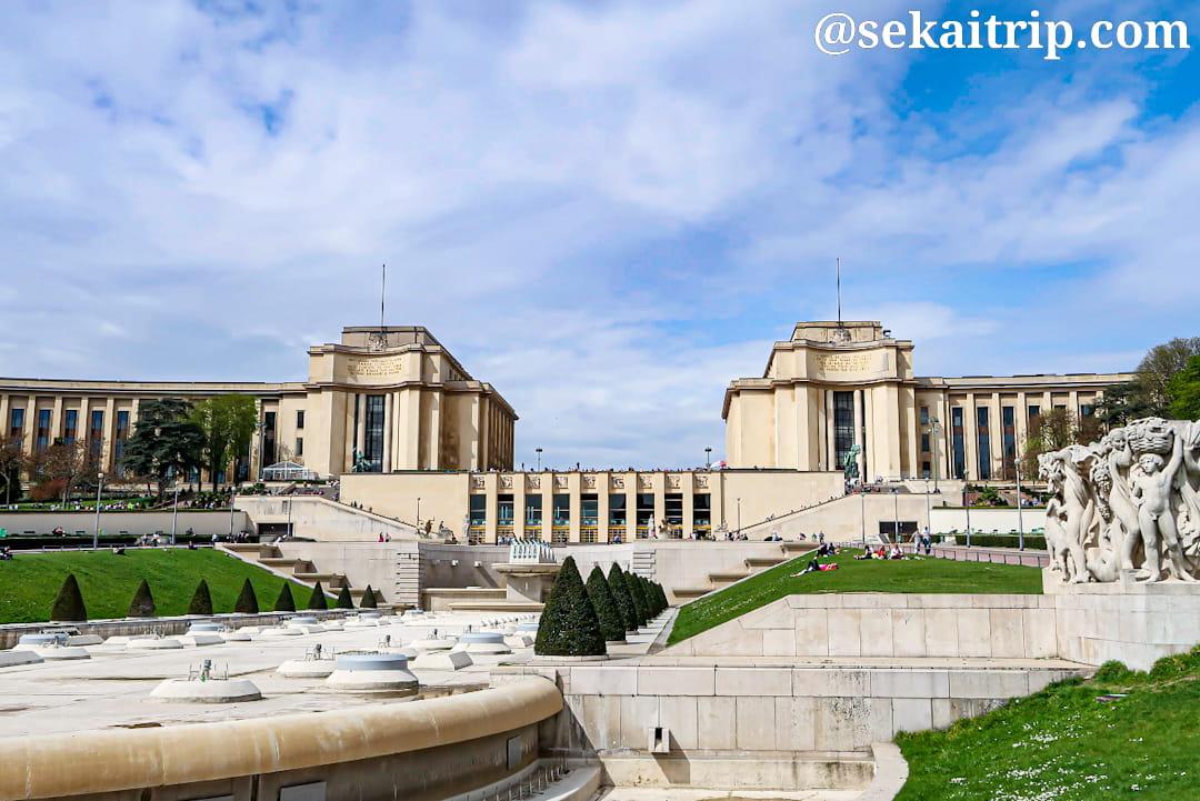 パリのシャイヨー宮(Palais de Chaillot)