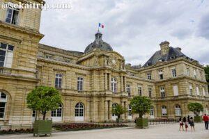 パリのリュクサンブール宮殿(Palais du Luxembourg)