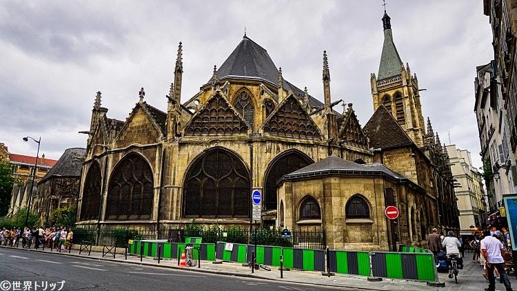 パリのサン・セヴラン教会(Paroisse de Saint-Severin)