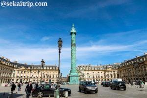 パリのヴァンドーム広場