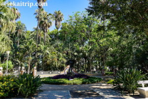 マラガ公園(Parque de Malaga)