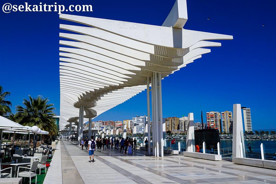 マラガ港(Puerto de Malaga)