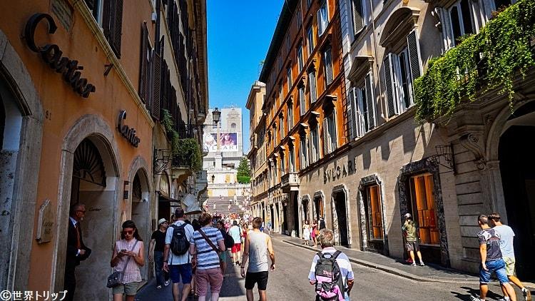 ローマで高級ブランド本店巡り!フェンディ、ブルガリなど
