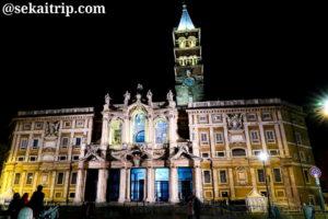 ローマのサンタ・マリア・マッジョーレ大聖堂(Basilica Papale di Santa Maria Maggiore)