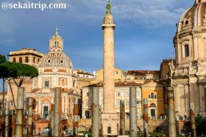 ローマのトラヤヌスの記念柱(Colonna Traiana)