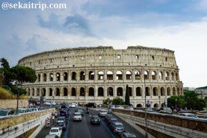 ローマ・コロッセオ(Colosseo)の外観