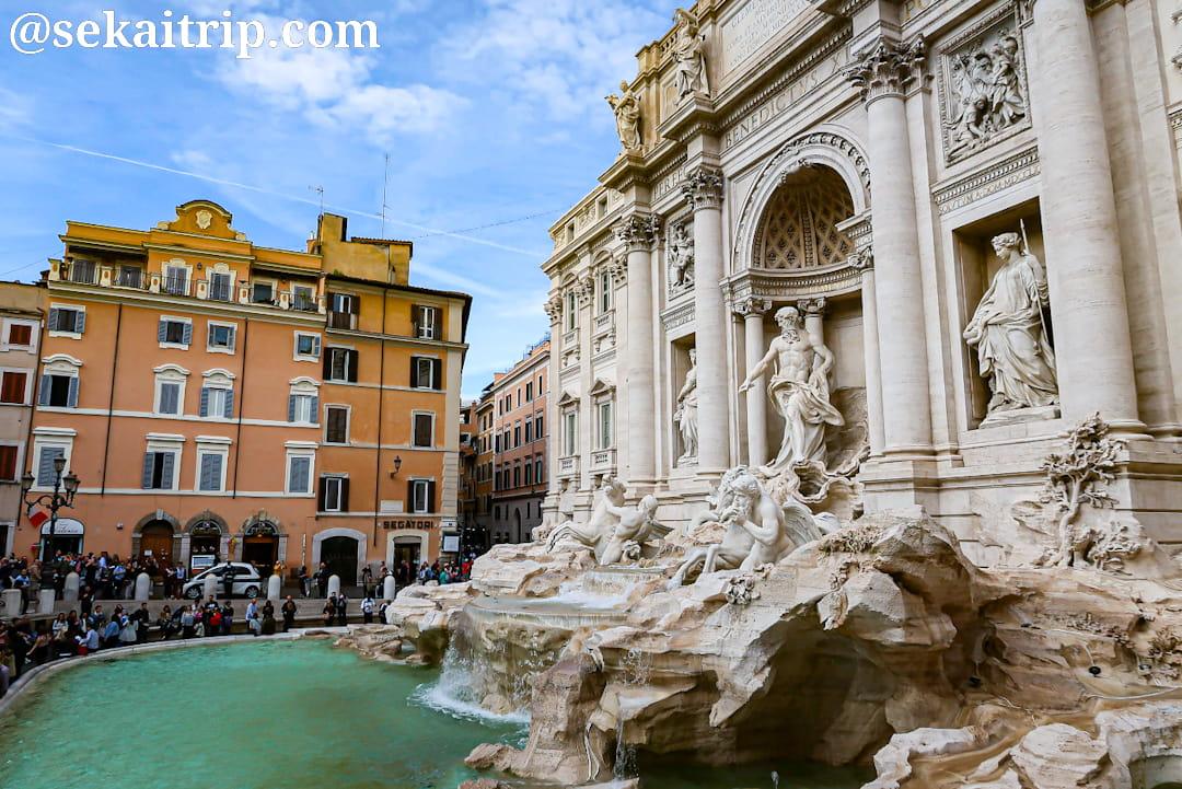 ローマのトレビの泉(Fontana di Trevi)