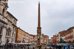 ローマのナヴォーナ広場(Piazza Navona)