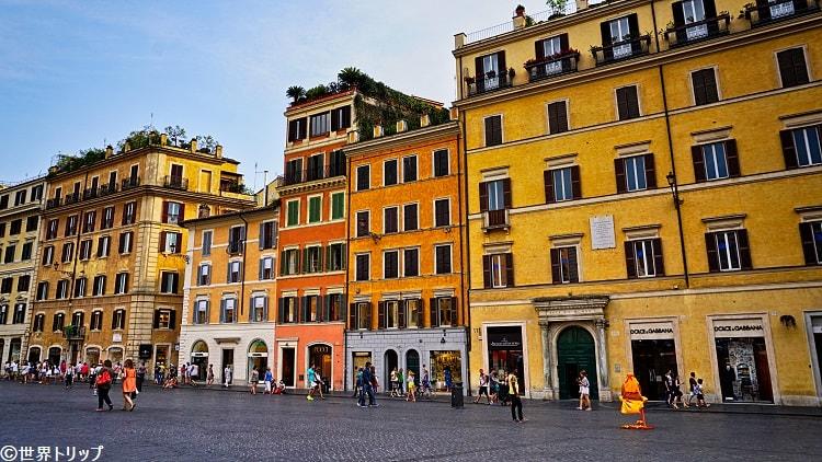 ローマのスペイン広場(Piazza di Spagna)