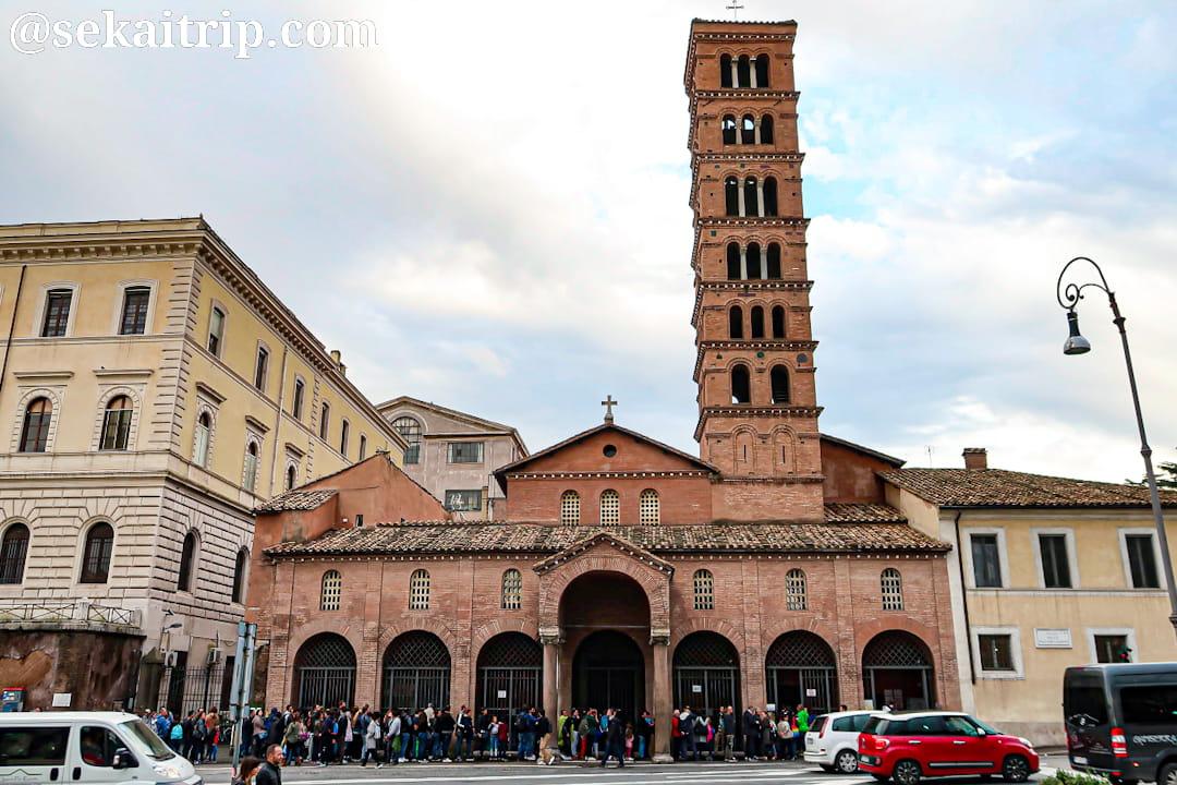 ローマのサンタ・マリア・イン・コスメディン教会(Santa Maria in Cosmedin)