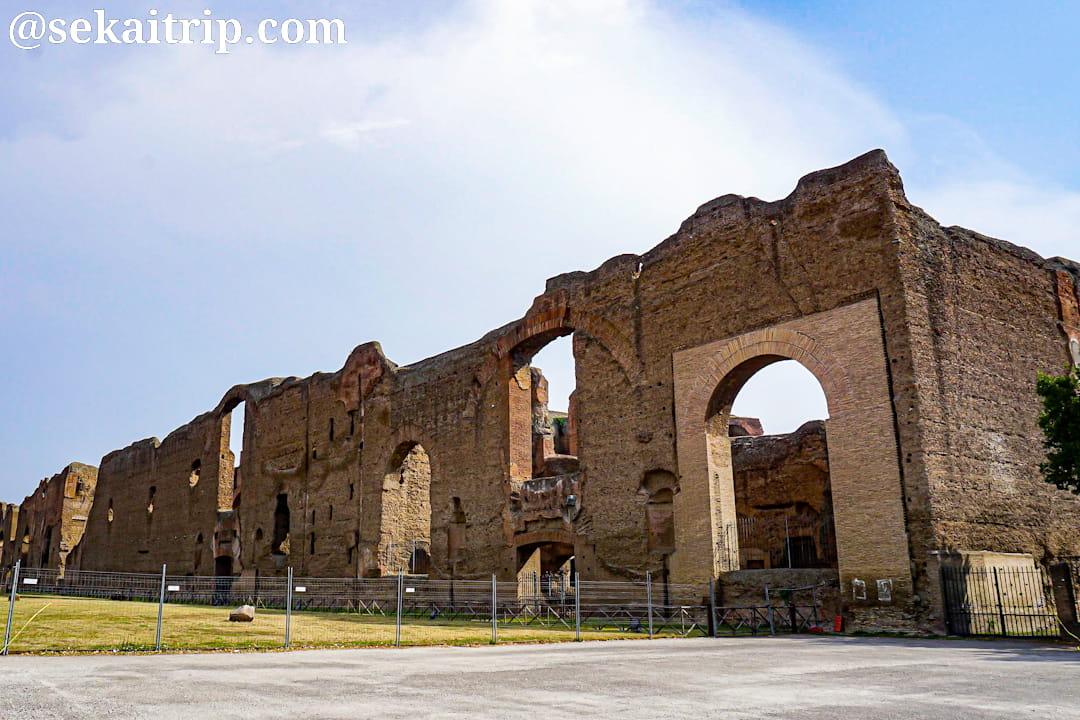 ローマのカラカラ浴場(Terme di Caracalla)