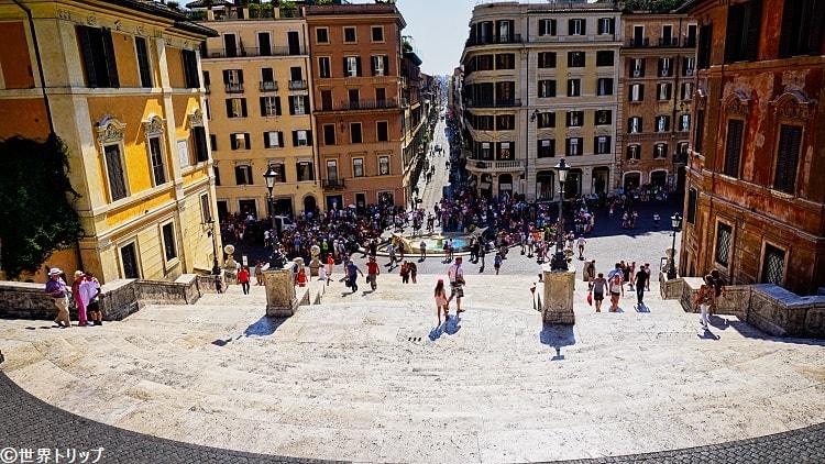 ローマのコンドッティ通り(Via dei Condotti)