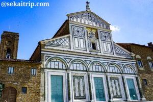 イタリア・フィレンツェのサン・ミニアート・アル・モンテ教会(Abbazia di San Miniato al Monte)