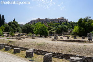 ギリシャ・アテネの古代アゴラ(Ancient Agora of Athens)