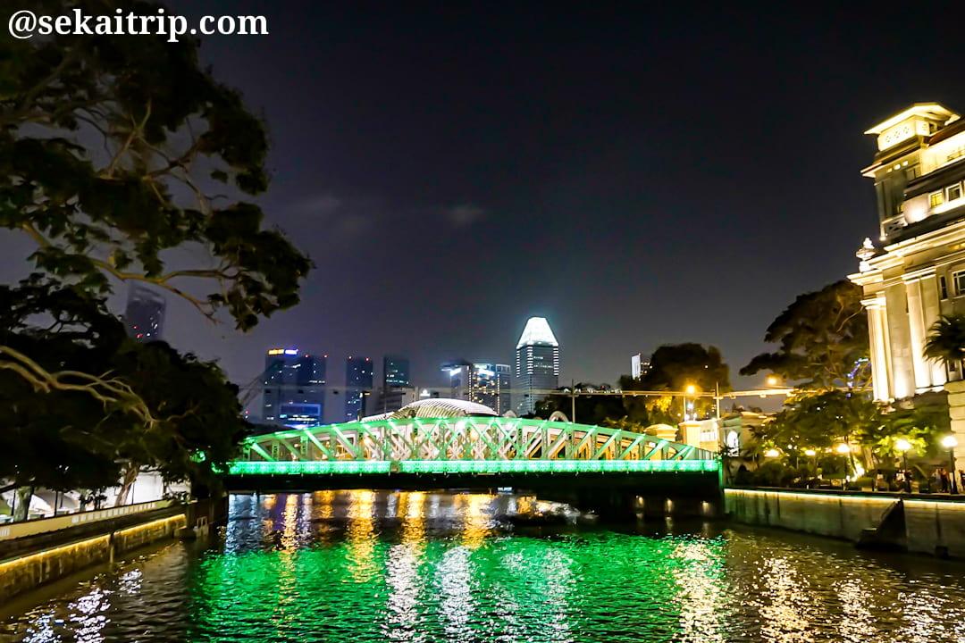 シンガポールのアンダーソン橋(Anderson Bridge)