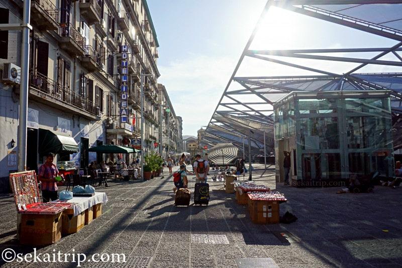 ナポリ中央駅(Stazione di Napoli Centrale)周辺